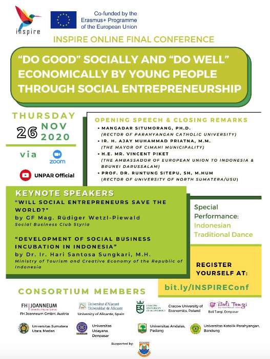 International Conference on Sosioentrepreneurship 2020