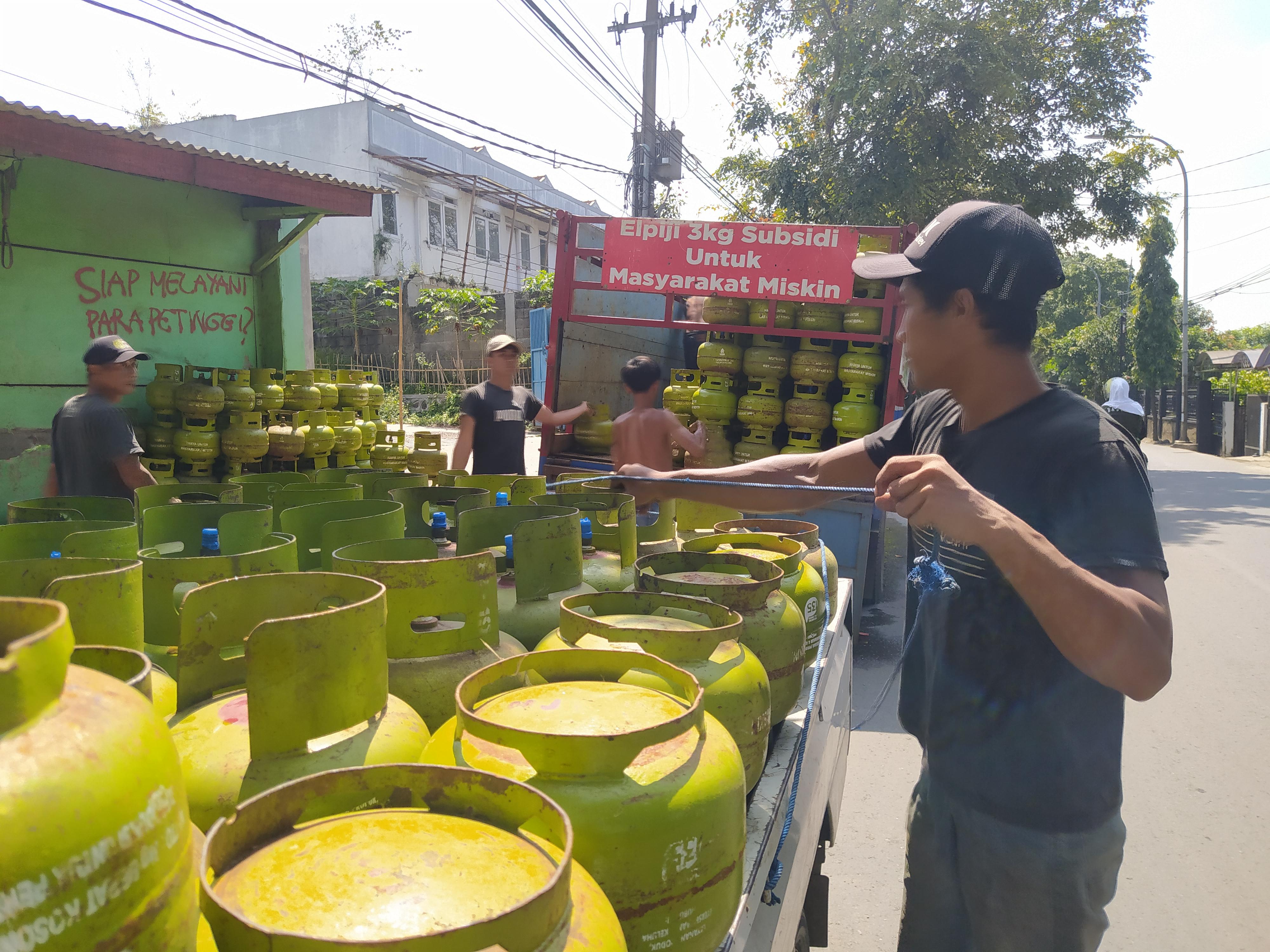 Pasokan  Gas 3 Kg di Cimahi Ditambah Selama Ramadan 2021