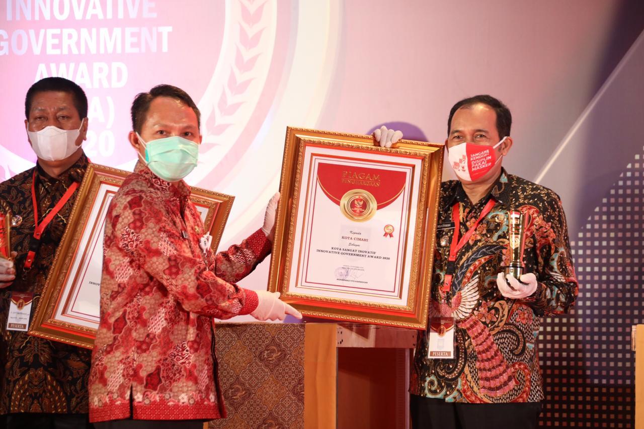 Cimahi Raih Predikat Kota Sangat Inovatif Pada Ajang Innovative Government Award 2020