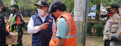 Sanksi Denda Tanpa Masker Sudah Berlaku di Cimahi