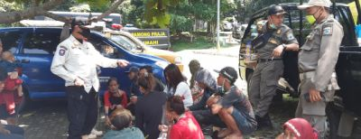 Razia Pekat, Tim Gabungan Jaring Gepeng-Anjal Berkeliaran di Kota Cimahi