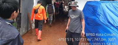 BPBD Kota Cimahi Mulai Bersiap Hadapi Musim Hujan