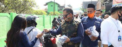 Wali Kota Cimahi edukasi kepada masyarakat Cigugur Tengah mengenai Covid 19 bersama MCCC