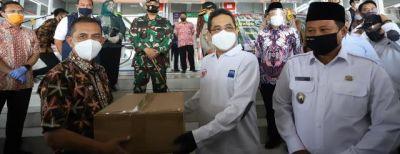 Walikota  Cimahi Menerima Kunker Mendag RI di Pasar Atas