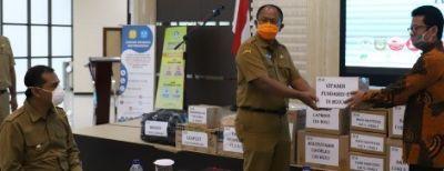 Pemkot Cimahi Mendapat Bantuan Dari P4TK BMTI Jabar Dalam Penanganan Covid-19