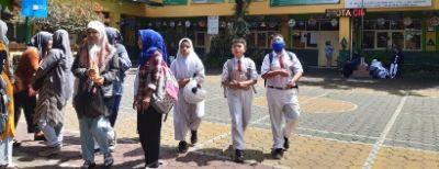 Kegiatan Bulan Imunisasi Anak Sekolah Bagi Siswa Kelas 1 SD Ditunda