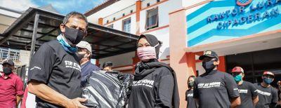 Pencanangan Launching Bansos Kota Cimahi Tahap Pertama Bulan Kedua Tahun 2020