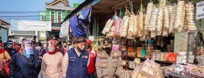 Swab Test Dilakukan di Pasar Rancabentang