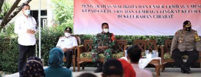 Pemberlakuan PSBM, Pemkot Cimahi Ajak Masyarakat Jaga Wilayah Masing-masing Dari Penularan Covid-19