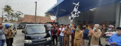 Wali Kota Cimahi Lepas Bantuan Sosial Pangan Bagi Warga Terdampak Covid-19 dari APBD Kota Cimahi