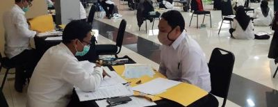BKPSDMD Kota Cimahi Proses Pemberkasan Peserta Lolos Seleksi CPNS Formasi 2019