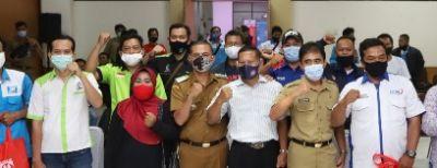 Pemkot Cimahi Salurkan Paket Bansos Untuk 1.000 Buruh Kota Cimahi
