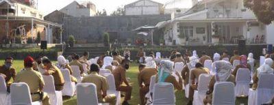 Jajaran Pemkot Cimahi Menopang Implementasi AKB Covid-19 Lewat Bina Wilayah