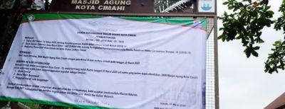 Pemerintah Kota Cimahi Atur Pembukaan Mesjid Pada Masa Adaptasi Kebiasaan Baru (AKB)
