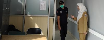 Jaring Pasien Terduga Virus Corona, RSUD Cibabat Siapkan Ruang Screening