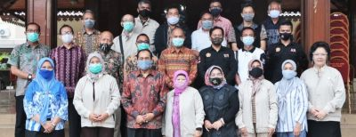 Plt. WALI KOTA BERSILATURAHMI DENGAN JAJARAN FPK KOTA CIMAHI PERIODE 2015-2020
